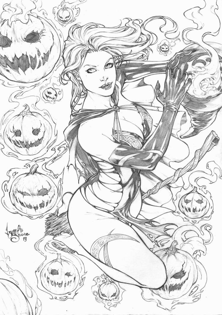 Witch of OZ by IzonetoSousa
