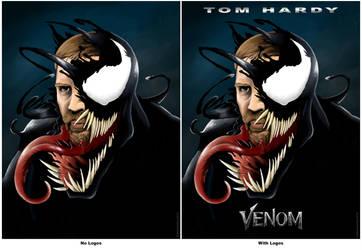 Venom Submission #2 - Venom Movie Poster by majorart007