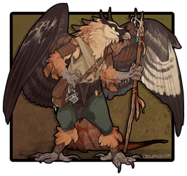 DnD Char by CrowFangs