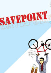 Savepoint magazine project -Back cover- by DontTrust