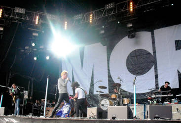 My Chemical Romance 2 . Big Day Out 2012 by likescarecrows
