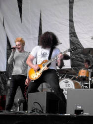My Chemical Romance 4 . Big Day Out 2012 by likescarecrows