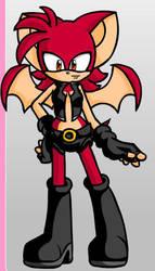 Miss Blood Moon the Bat by Star-Stream101