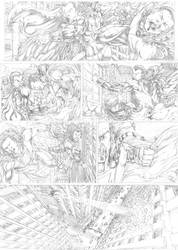 Shazam!  Page 2 just on Deviant Art by CaioRob