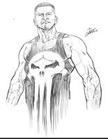 Punisher sketch by CaioRob