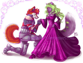 Knight and Princess by Cynthea83