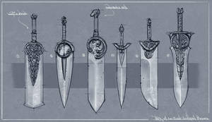 Blade Design 1 by Ranoartwork