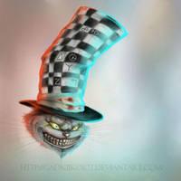 Cheshire Cat by GadkiiKoiot