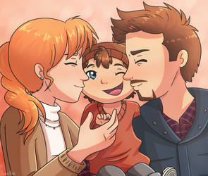 Commish - Pepperony Family by ArcherVale