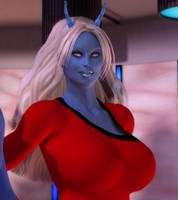 Transporter Girls - Andorian by willdial