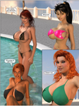 Pool Party 02 by willdial