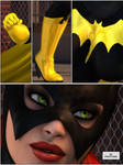 Batgirl Fight 01 by willdial