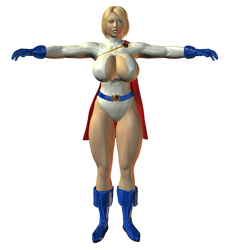 Preview: Powergirl by willdial