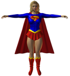 Preview: Supergirl Classic Uniform by willdial