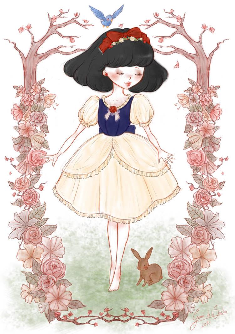 The Little Snowhite by CherryTemptation