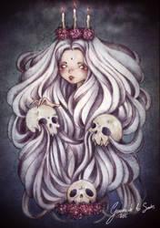 Creepy Doll by CherryTemptation