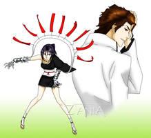 Juri and Aizen by Zania85