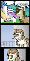 .Comic 5: A Look To The Past. by ZSparkonequus