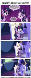 Comic 103: Princess Princess Princess by ZSparkonequus
