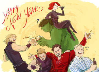 HAPY NEW YEAR by beanclam