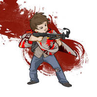 Daryl Dixon by beanclam