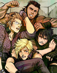 Chocobros by beanclam