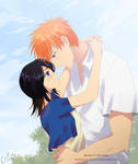IchiRuki - A Warm Day by Cati-Art