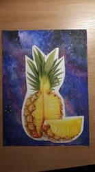 Cosmic Pineapple by beti552