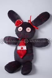 Dark rabbit II:::: by Witchiko
