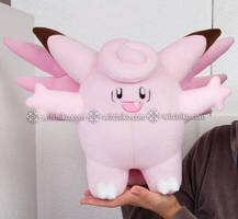 Clefable:::: by Witchiko