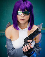 Major Motoko:::::: by Witchiko