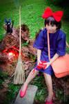 Kiki and Jiji:::::: by Witchiko