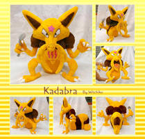 Kadabra  Plush:::::: by Witchiko