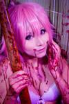 Yuno Gasai::::::: by Witchiko