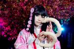 Kuda Kitsune and Zashiki:::::: by Witchiko