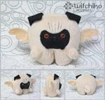 Pug Plush by Witchiko