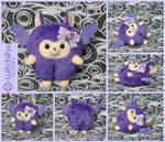 Alpaca Purple Candy by Witchiko