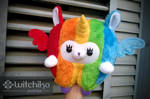 Alpaca Rainbow by Witchiko