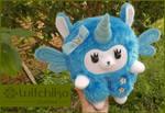 Alpaca Fairycorn Blue by Witchiko