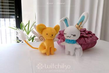 Kero and Momo by Witchiko