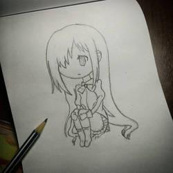 Chibi Hanako - Katawa Shoujo by Natan366