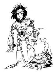 Robot gladiator by travishanson