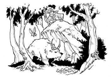 the forest walker by travishanson