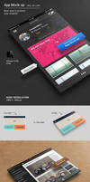 App Mockup by SynthDesign