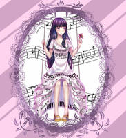 Piano humanization | Anime Girl by FaithMari