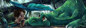 Good Dinosaur Entry by TheK40