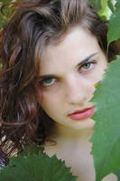 Green Eyes Stock by ixithegreat
