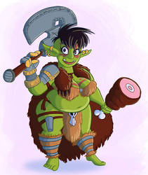 Chubby Orc by CousinTed