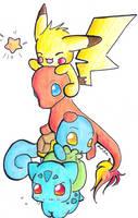 pokemon fan by Feonalily