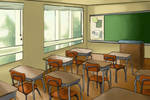 Four Moons: Classroom by cerulean-kitsune